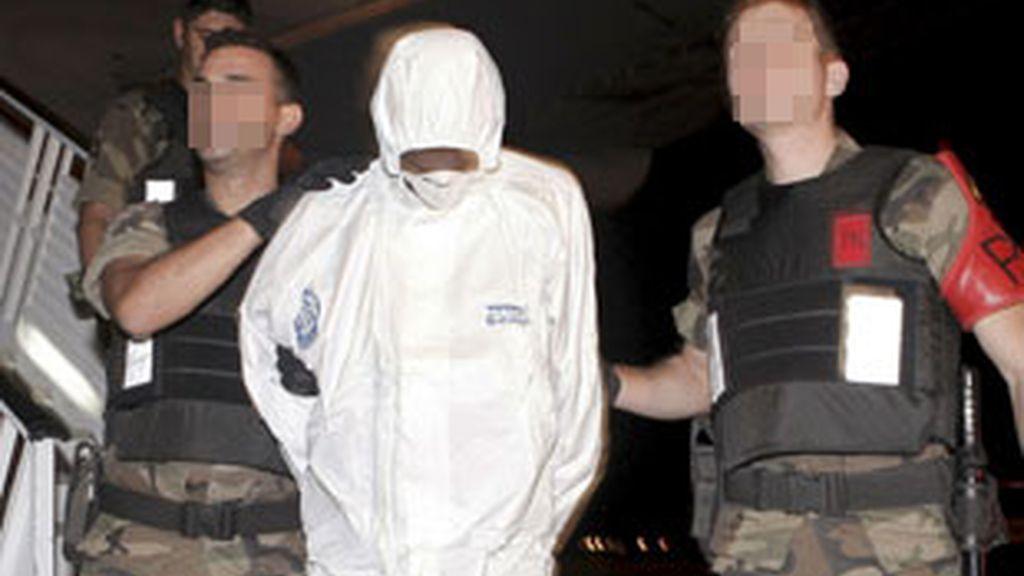 Imagen de archivo de uno de los dos piratas detenidos por el secuestro. Foto: EFE.
