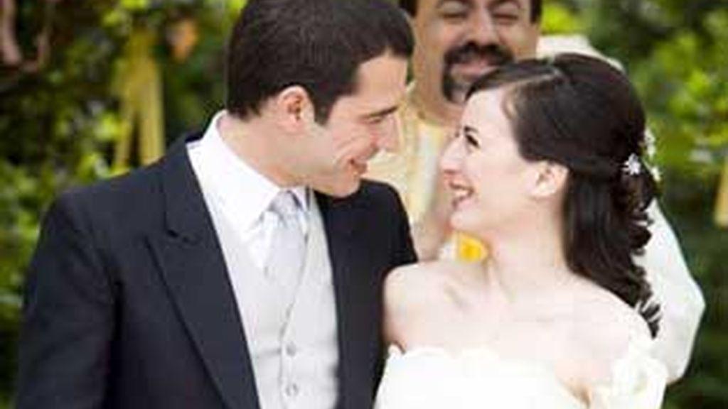 Bea y Álvaro por fin se casan