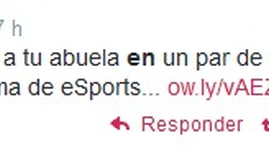 Tuit telenovelas y eSports