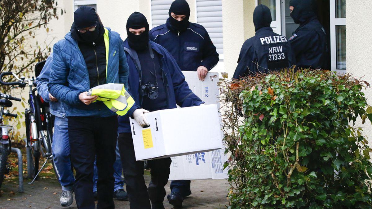 Operación antiyihadista en Alemania