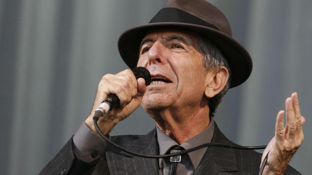 Fallece Leonard Cohen