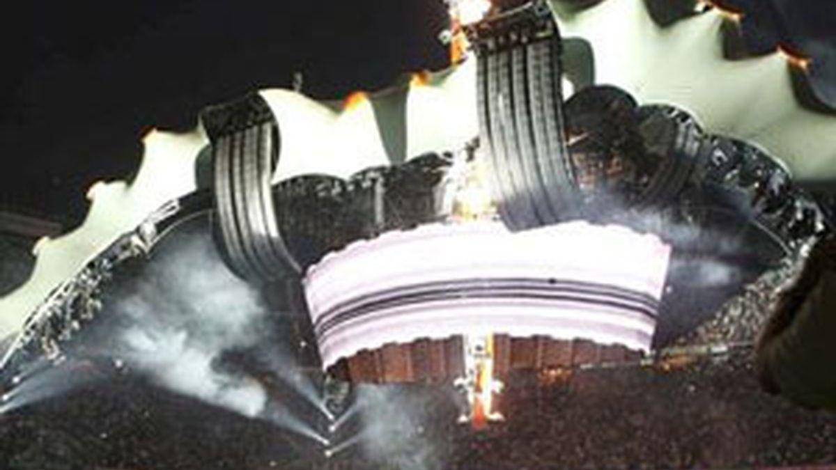 Concierto de U2 en Barcelona el pasado mes de julio. Foto: EFE