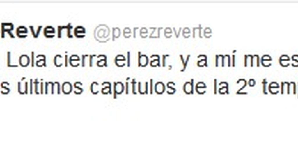 Twitter Arturo Pérez Reverte (Homeland)