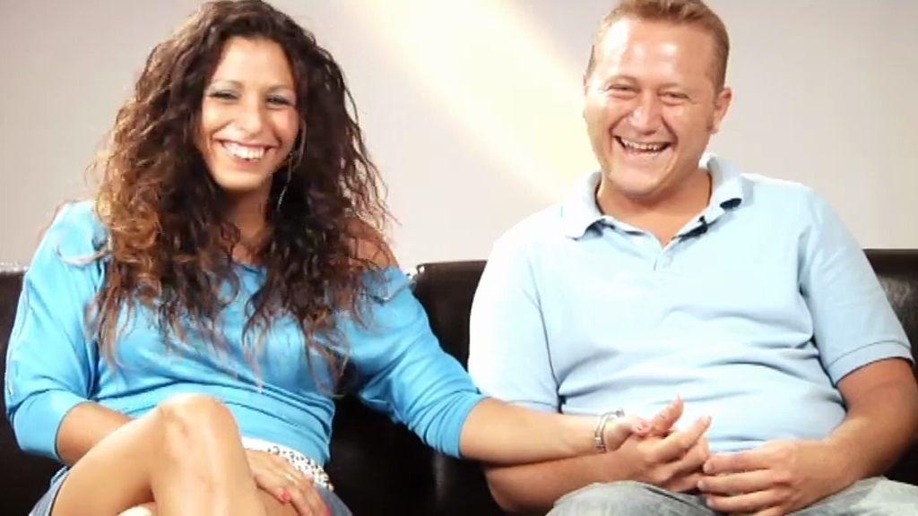 Nallat y Jose, alumnos de 'Sex Academy'