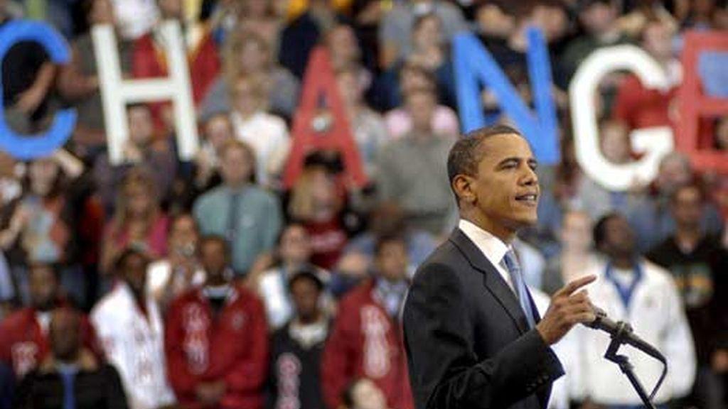Obama hace historia. Video: Atlas