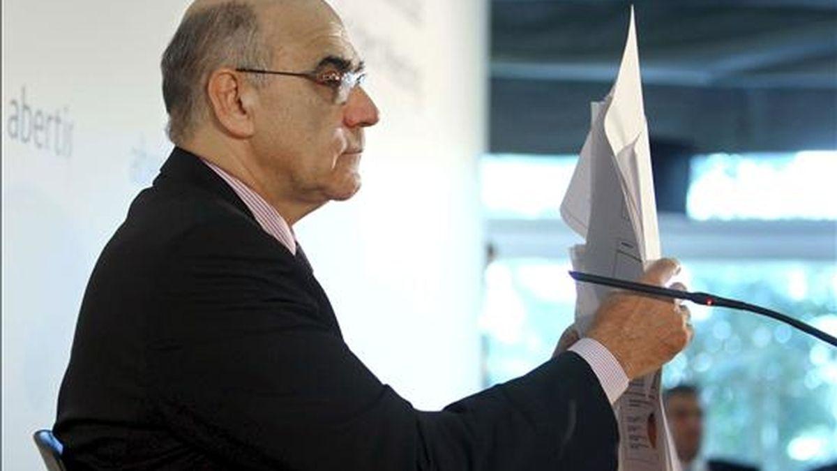 El presidente del grupo de concesionarias en infraestructuras Abertis, Salvador Alemany. EFE/Archivo