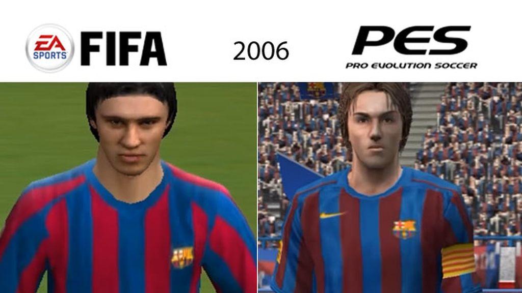 Así ha sido el cambio del argentino de 2006 a 2017