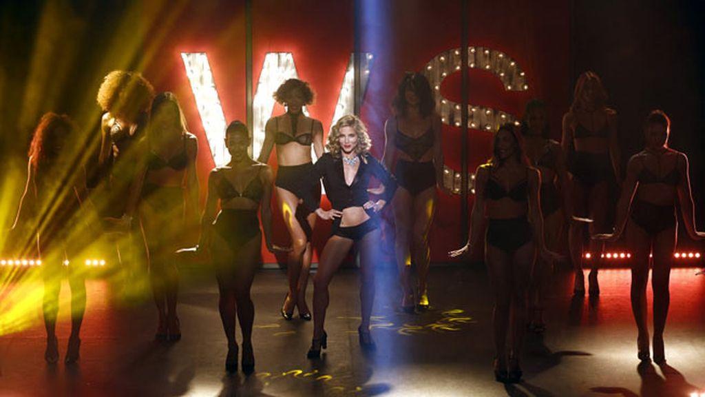 Al estilo burlesque, protagoniza el primer musical de Women' Secret