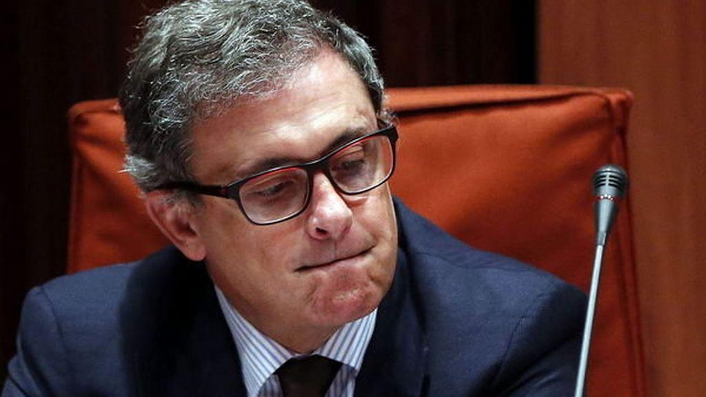Jordi Pujol Ferrusola, ante la comisión de investigación del Parlament sobre el fraude fiscal,