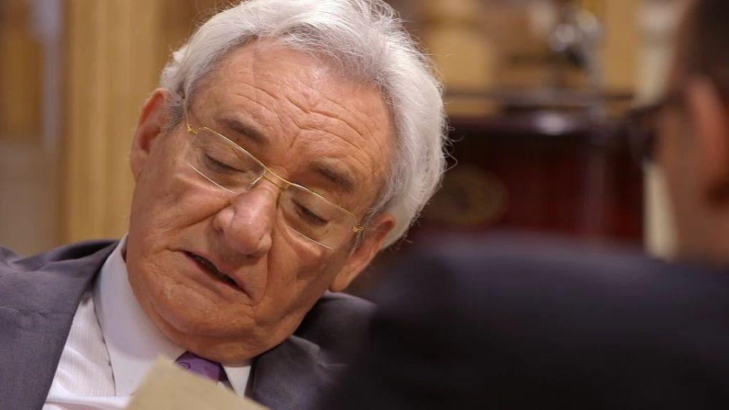 Luis del Olmo, gesto a gesto con Risto Mejide