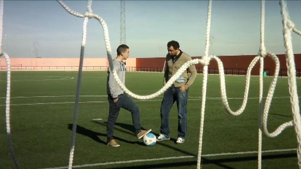 El exjugador de fútbol, Benjamín, todo un ejemplo en 'Hermano Mayor'