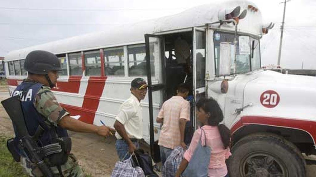 Más de 20.000 evacuados