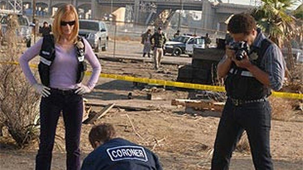 El equipo de CSI