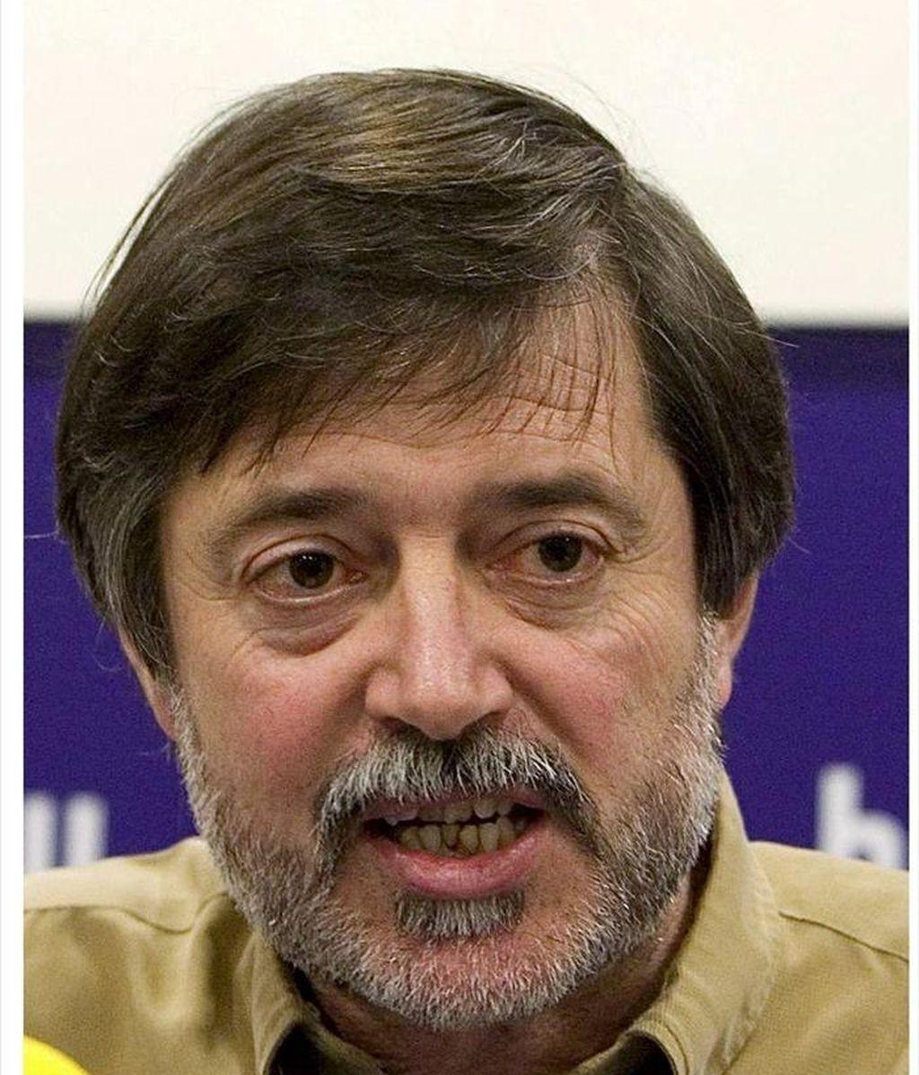 Fotografías de archivo del dirigente del ex líder del sindicato LAB, Rafael Díez Usabiaga. EFE/Archivo
