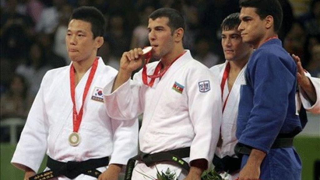 Tayikistán gana en judo la primera medalla olímpica de su historia