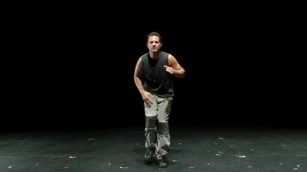 Paso a paso la coreografía de Ido