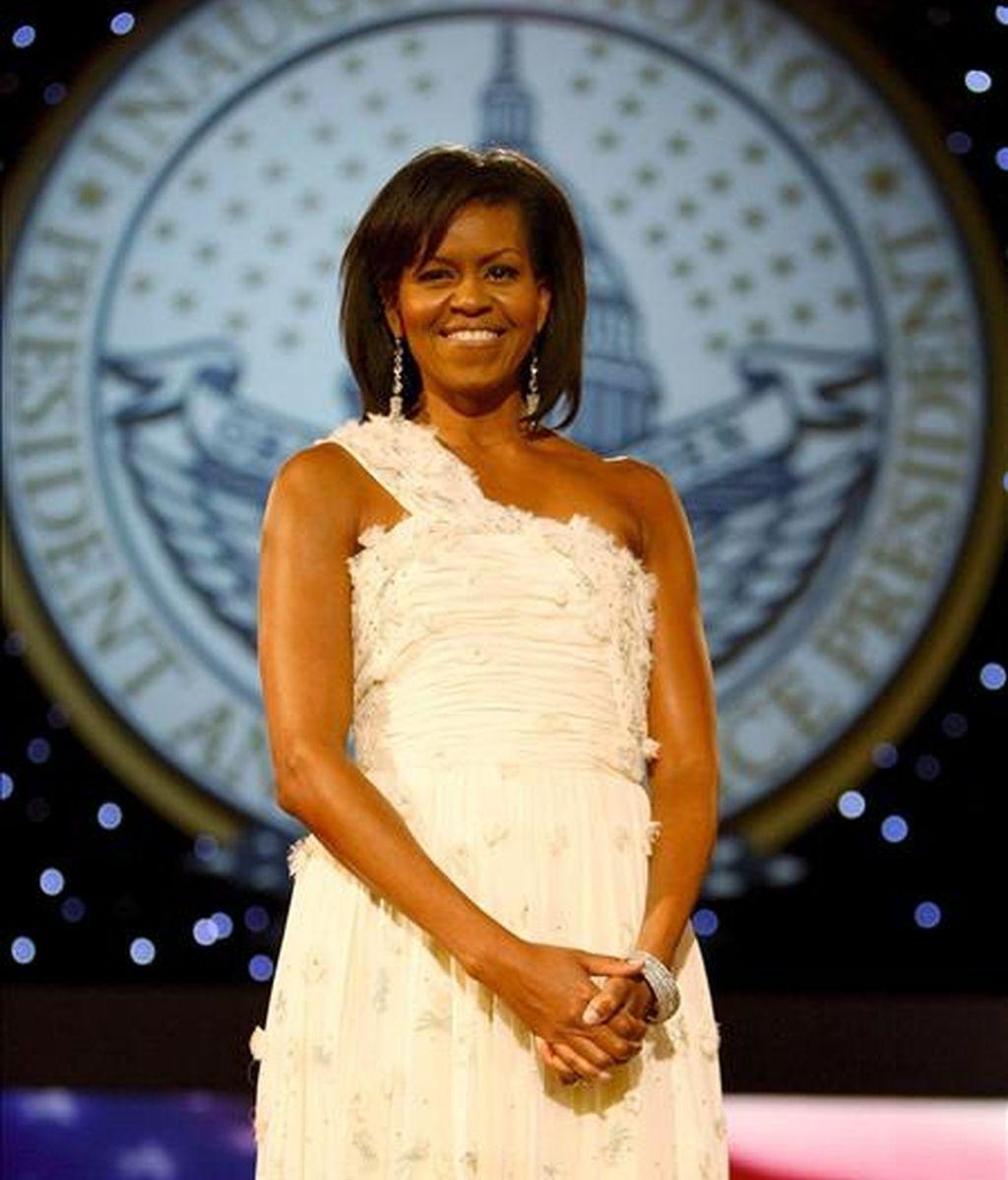 Michelle será la segunda mujer de un presidente en la historia de la revista. EFE/Archivo