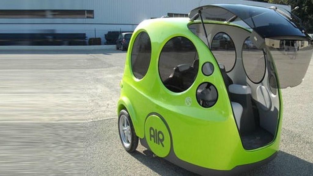 AIRPod, el coche que funciona a base de aire comprimido