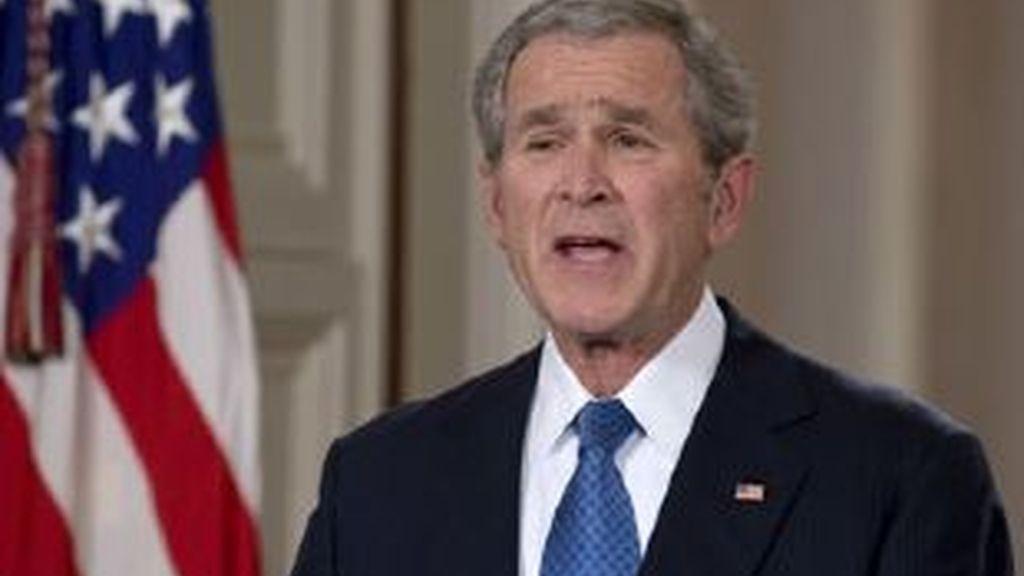 El presidente de Estados Unidos, George W. Bush, se despide de la nación. Video: Atlas