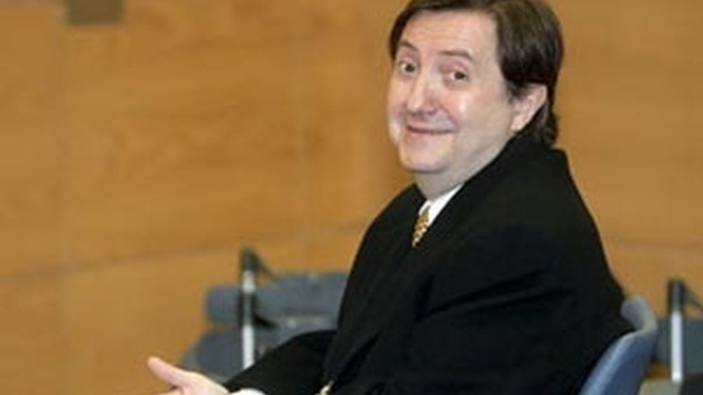 Imagen de Federico Jiménez Losantos durante el juicio en el que fue condenado por injurias graves a Gallardón. FOTO: EFE