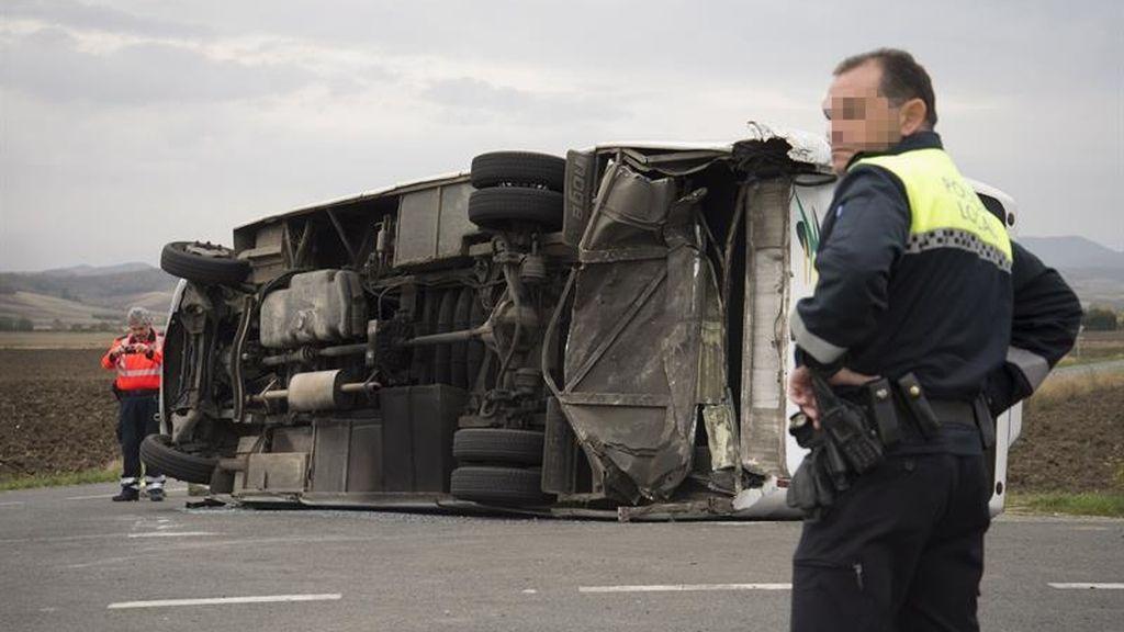 Accidente en Vitoria