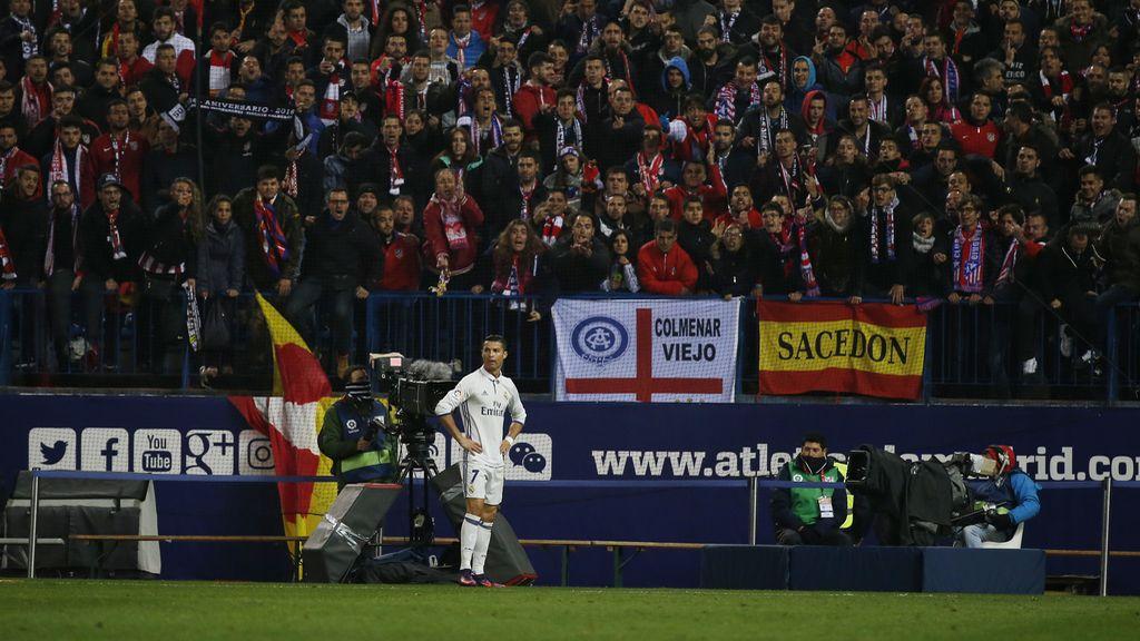 Cristiano Ronaldo, derbi, Atletico de Madrid
