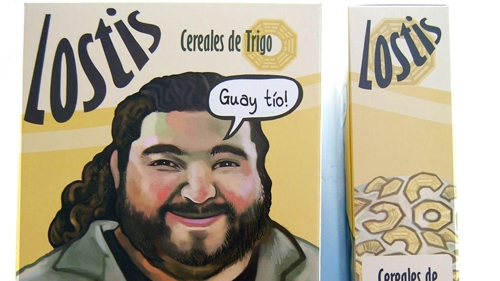 La caja de los cereales 'Lostis'
