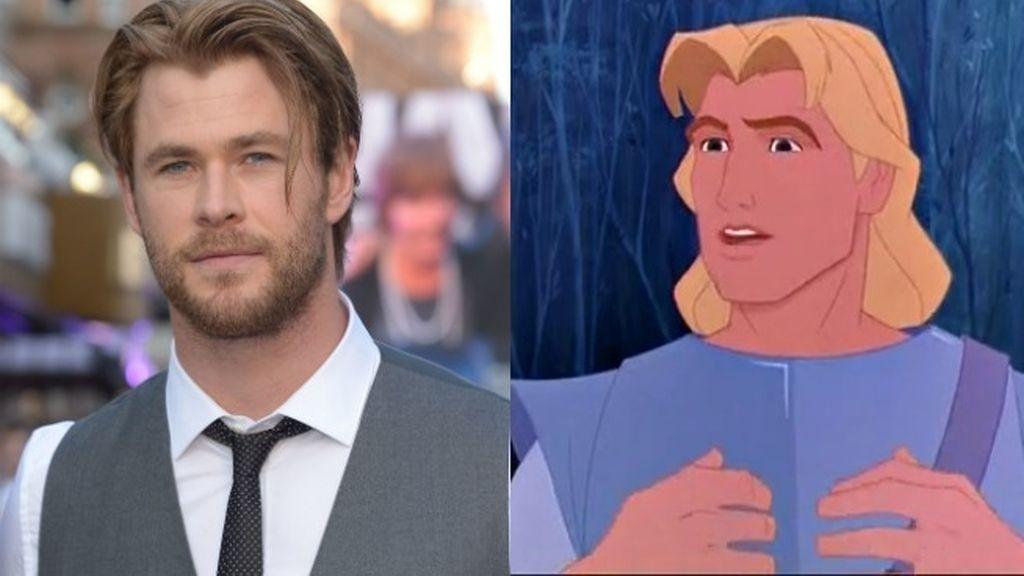 Chris Hemsworth conquistó a nuestra Elsa Pataky usando los mismos trucos que John Smith con 'Pocahontas'