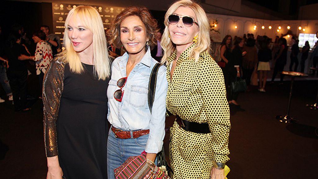 Tres grandes damas en el kissign room: Topacio Fresh, Naty Abascal y Bibiana Fernández