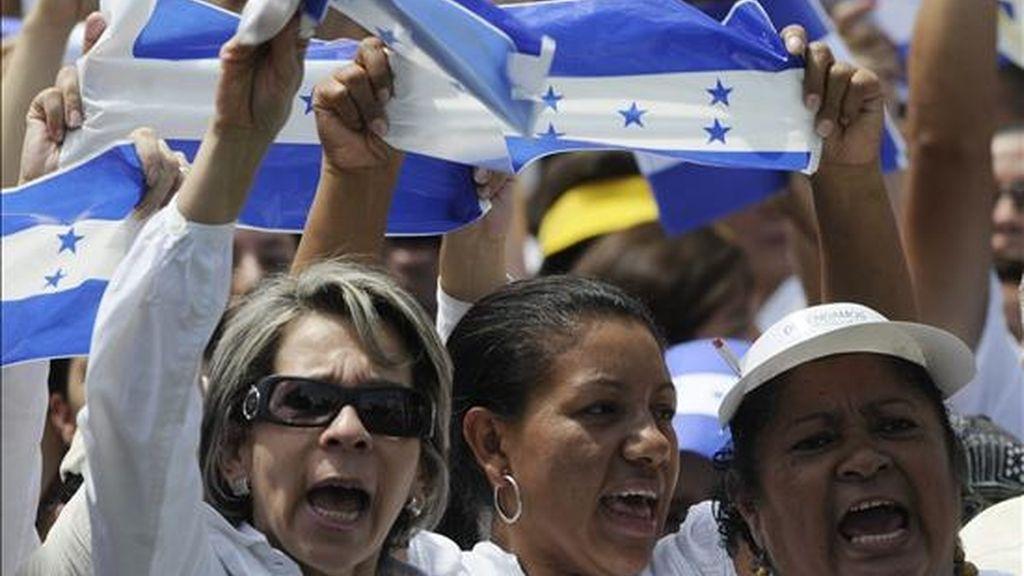 """El diputado Juan Orlando Hernández, del opositor Partido Nacional de Honduras, dijo a Efe que """"hay preocupación de que Honduras siga siendo miembro de la ALBA, por el componente militar que implica ser miembro de ese organismo"""". EFE"""