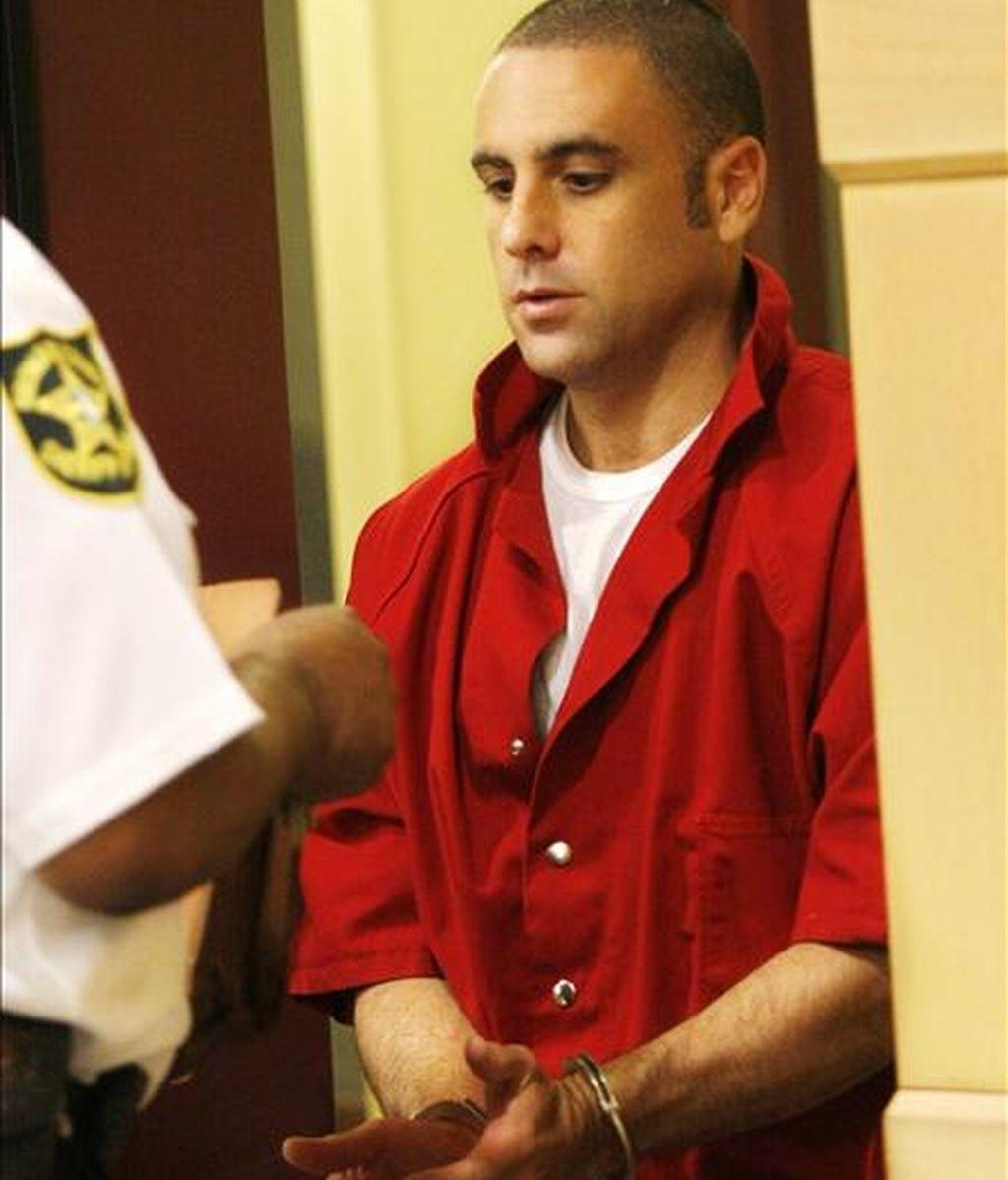 Pablo Ibar, de 37 años, que tiene la doble nacionalidad española y estadounidense, está desde 2000 en el corredor de la muerte del penal de Raiford, en Starke, en el norte de Florida. . EFE/Archivo