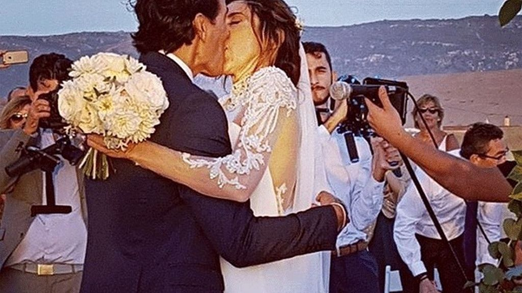 Así ha sido la romántica boda de Paz Padilla, un 'sí, quiero' de ensueño