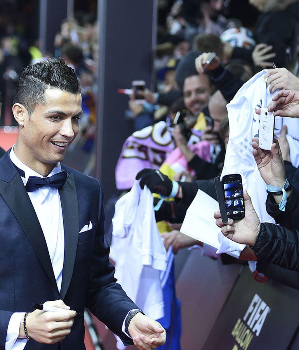 Ronaldo, sobrio
