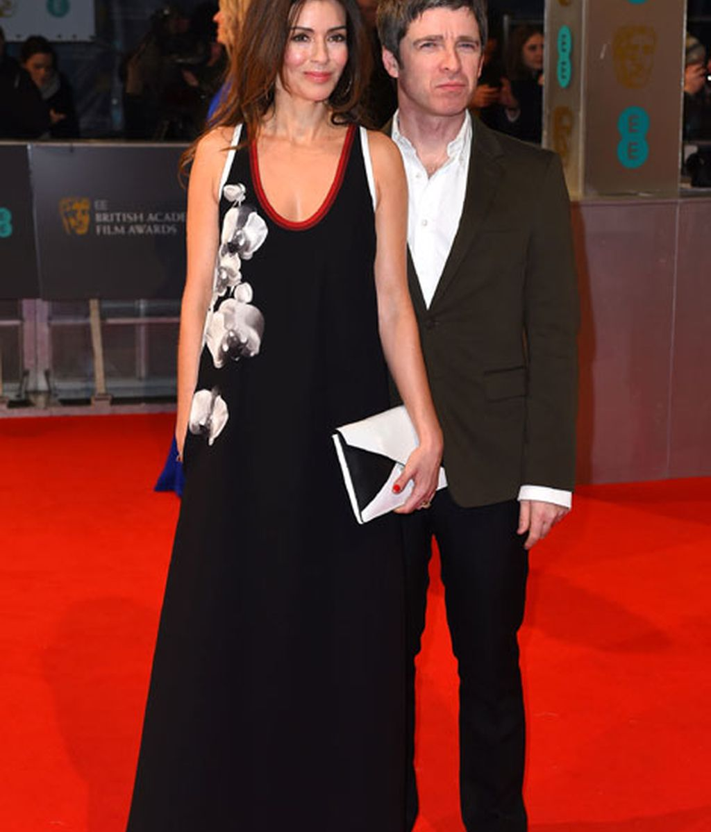 Sara MacDonald y Noel Gallagher