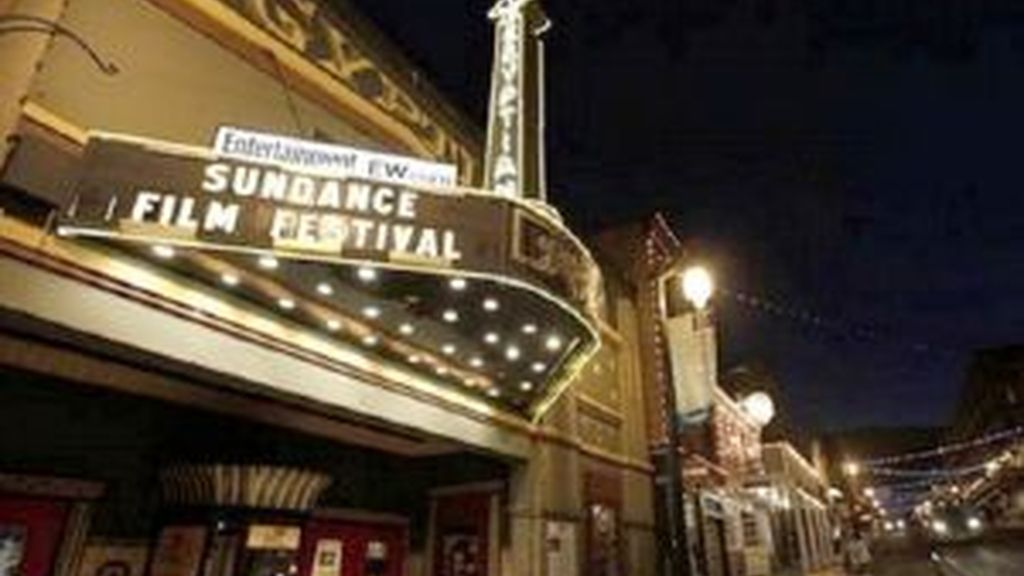 Uno de los teatros de Park City (Utah) donde se celebra el festival. Foto: AP