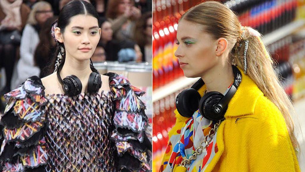 Los auriculares de Chanel