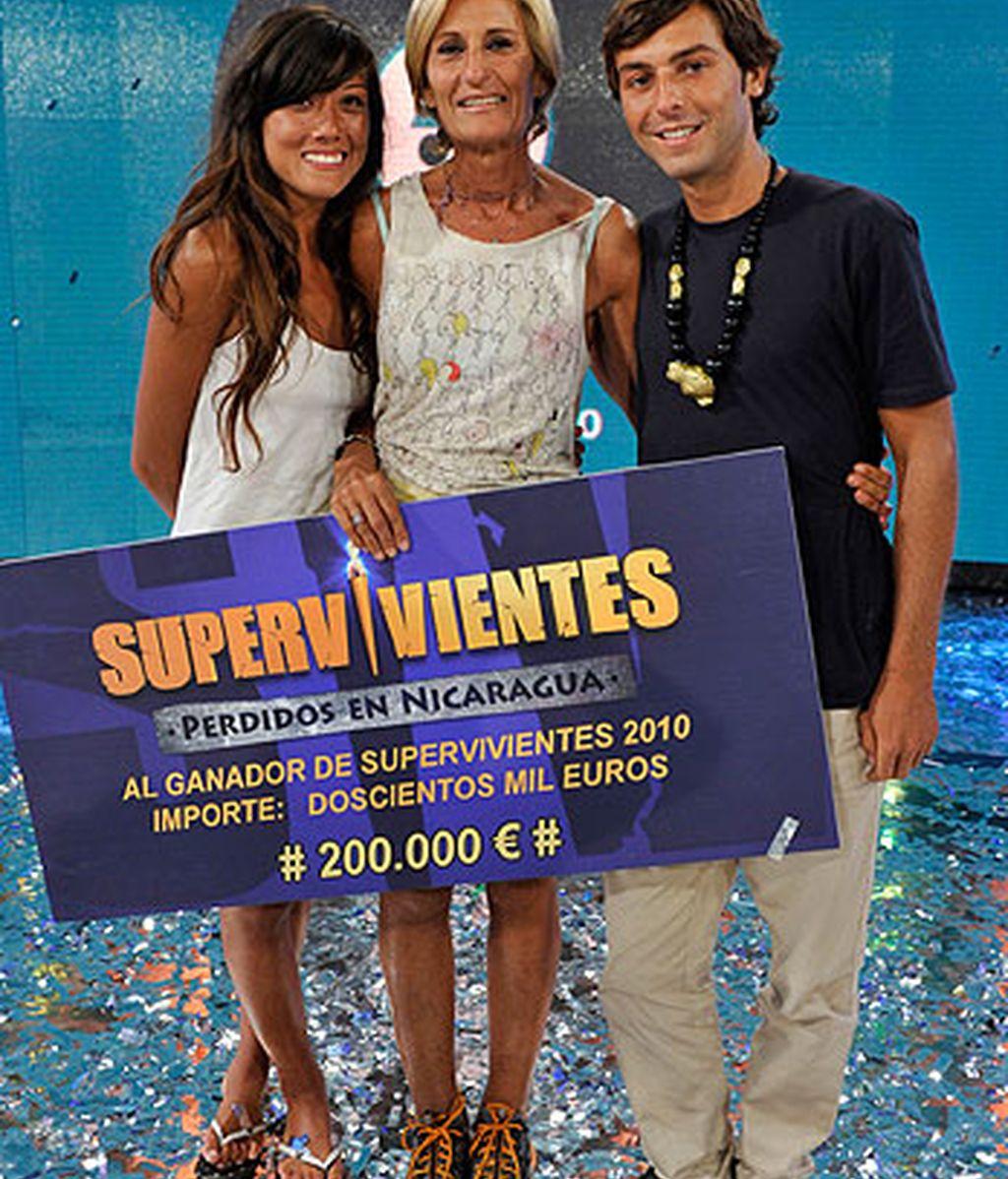 María José, ganadora de Supervivientes