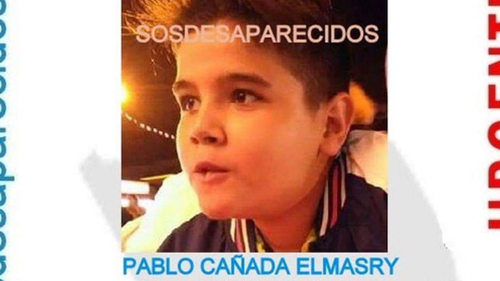 niño desaparecido, Pablo Cañada Elmasry