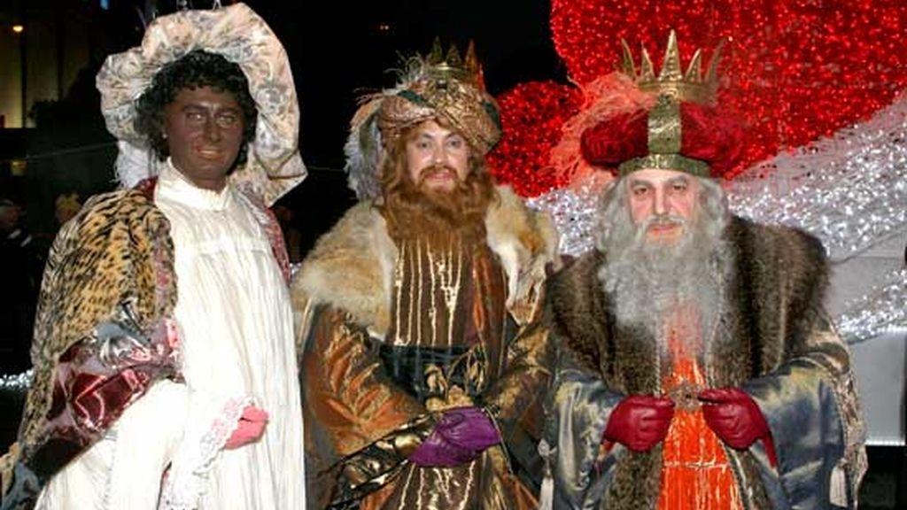 Sus majestades posan juntas en Madrid