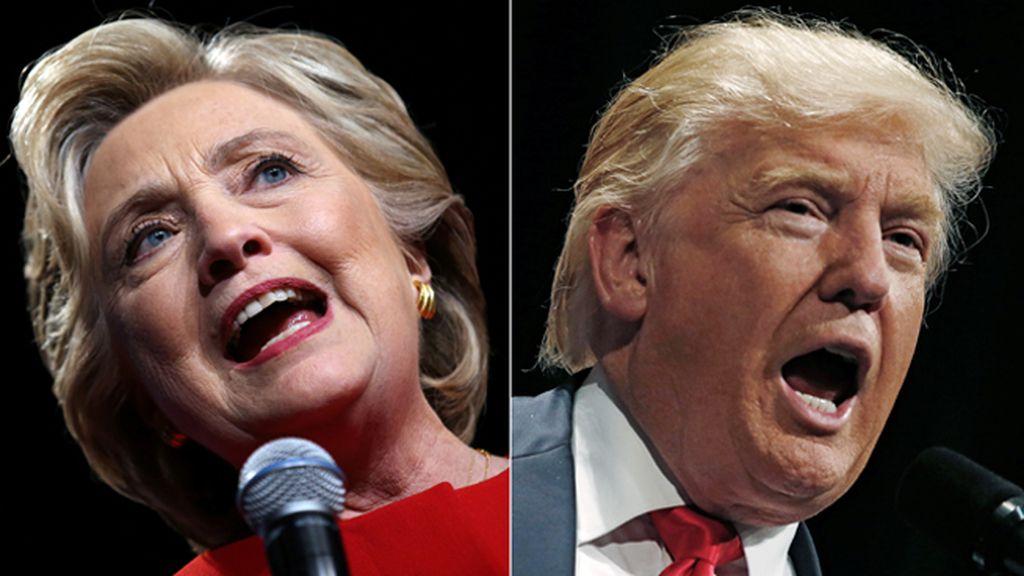 Día D en EEUU: Clinton y Trump se juegan la Casa Blanca con el resutlado abierto