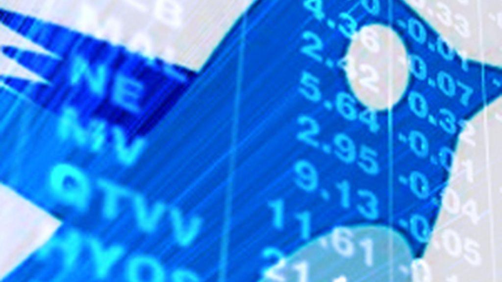 Un estudio revela que en Twitter puede ayudar a predecir el comportamiento de los mercados bursátiles.