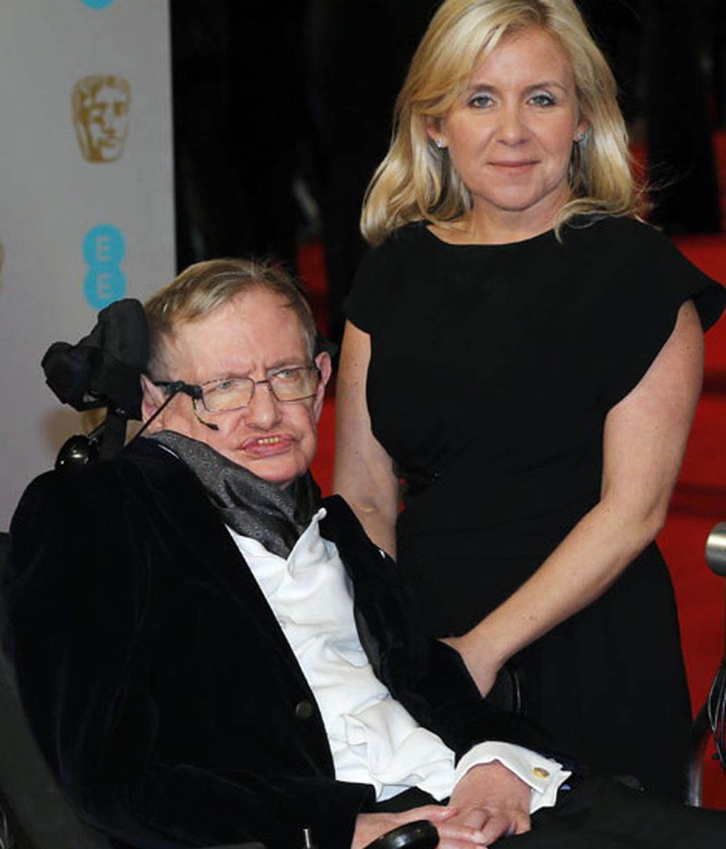 Stephen Hawking y su hija Lucy