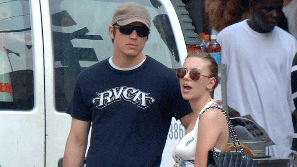 Josh Hartnett y Scarlett Johansson