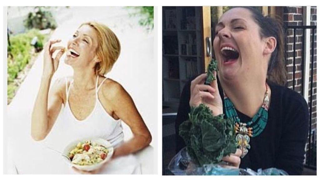 Las fotografías mientras se come, objetivo de burla de Celeste Barber