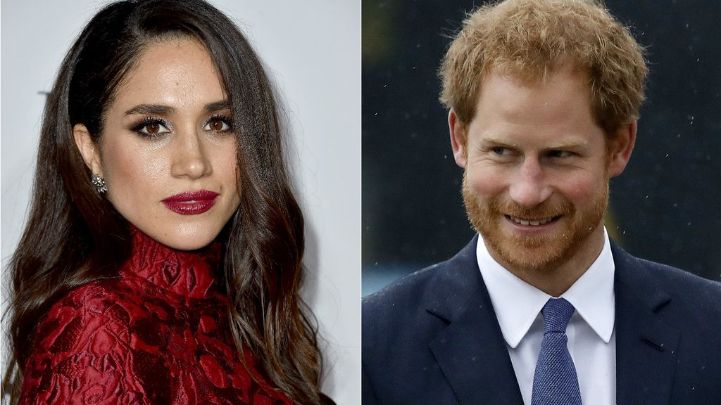 El Principe Harry y Meghan Markle