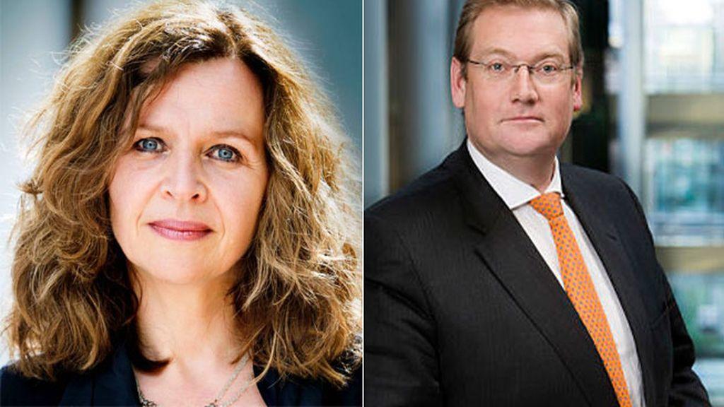 Edith Schippers y Ard van der Steur