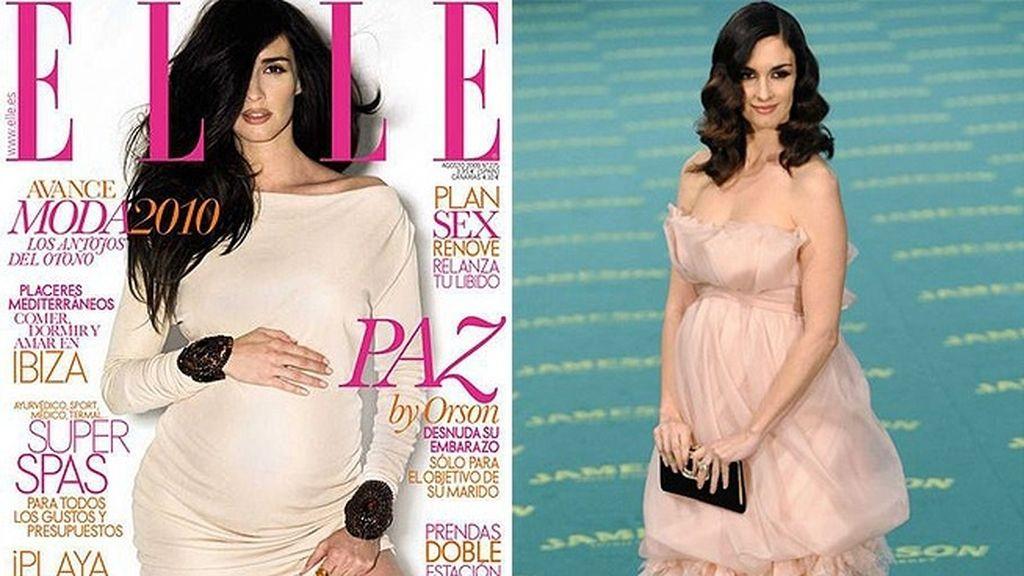 Paz Vega, pura sensualidad en la revista 'Elle' (2007)