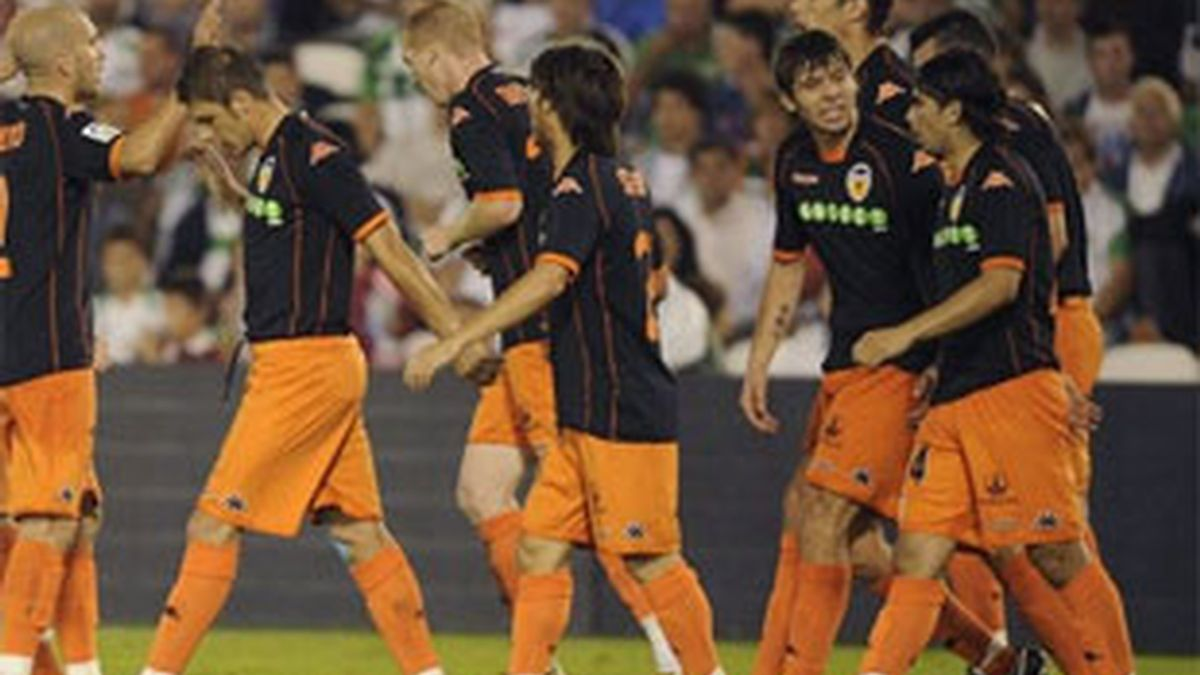 El Valencia tratará de sumar una nueva victoria. Foto: EFE