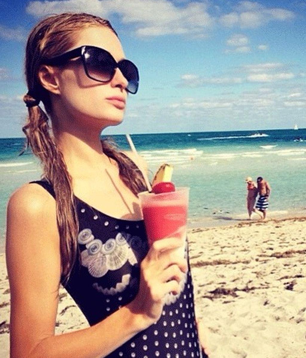 Paris Hilton en bikini