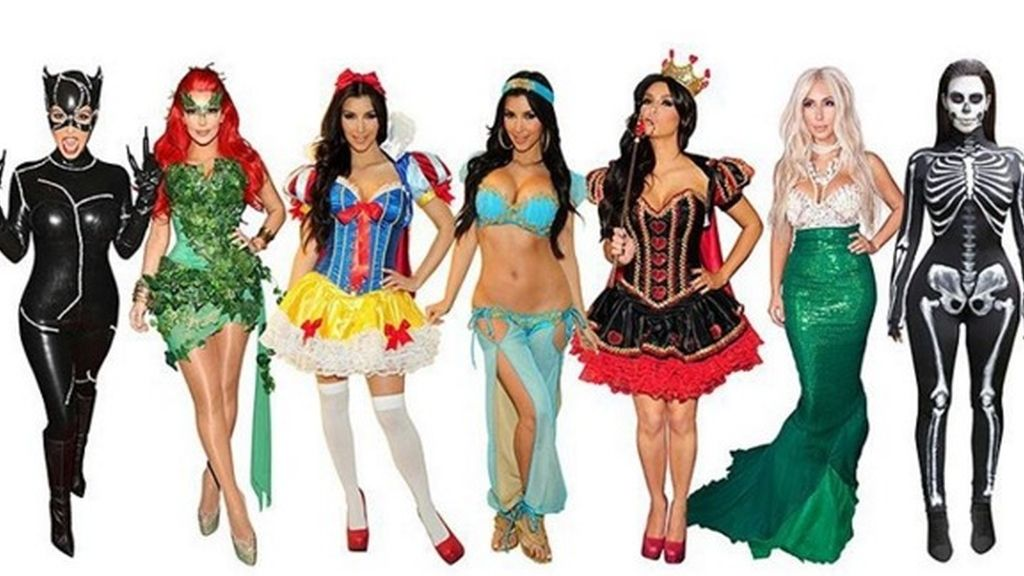 Las Kardashian se preparan para Halloween